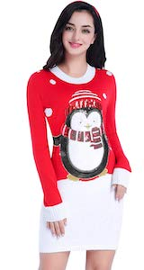 Women's Penguin Christmas Dress