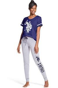 Women's U.S. Polo Assn. Pajama Set