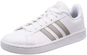 Adidas White Grand Court Sneaker