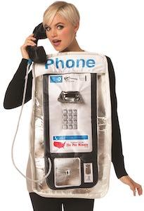 Public Phone Costume