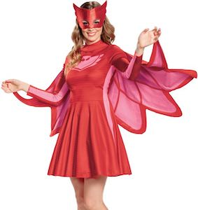 Women's PJ Masks Owlette Costume