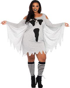 Women's Ghost Costume Dress