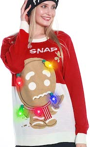 Women's Oh Snap Christmas Sweater