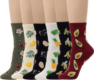 Women's Fruity Socks