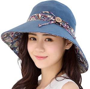 Women's Wide Brim Garden Summer Hat